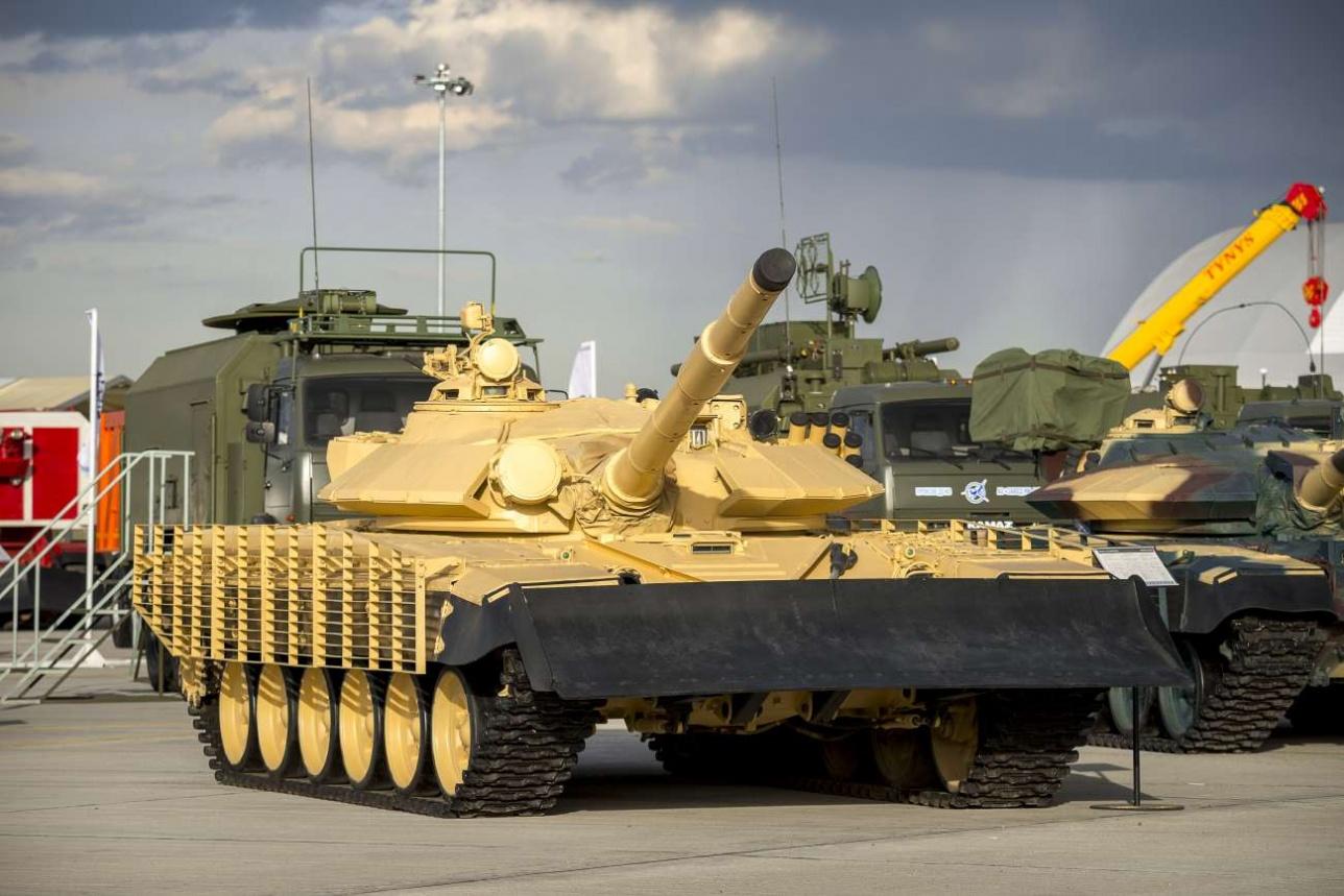 Модернизированый Т-72A - совместный проект с израильской компанией Opgal Industries Ltd.