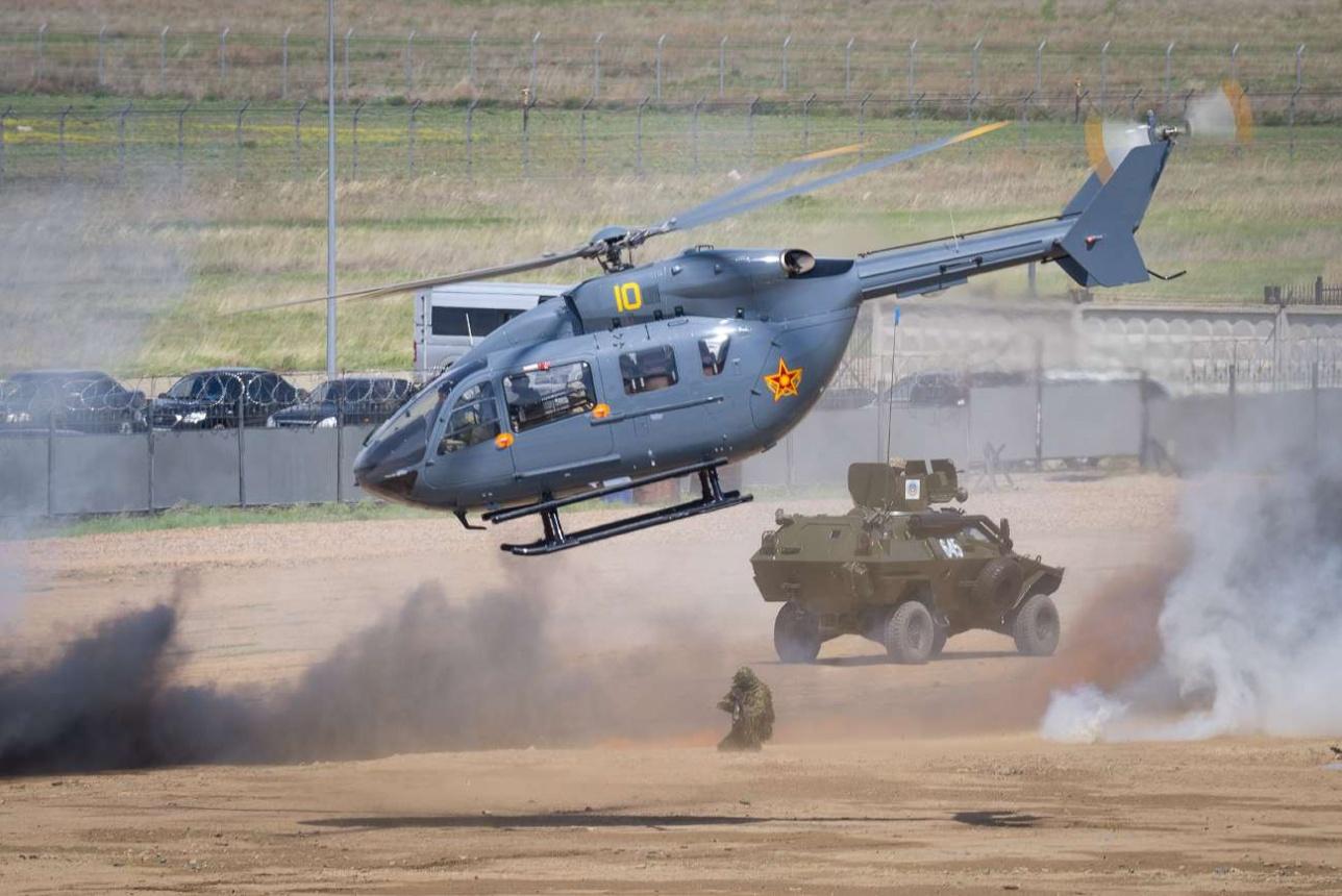Войсковая модификация EC 145