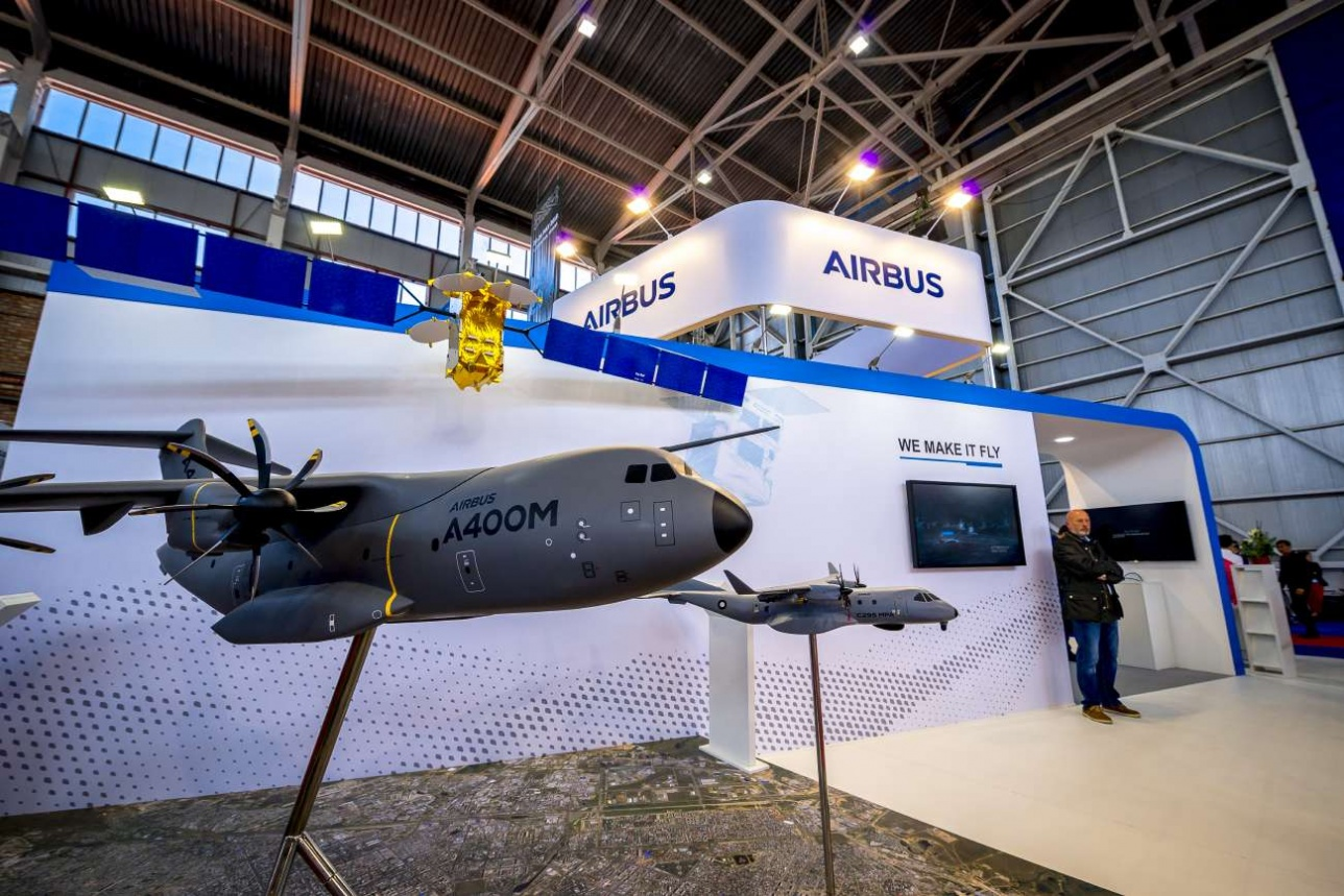 Cтенд авиастроительного концерна Airbus
