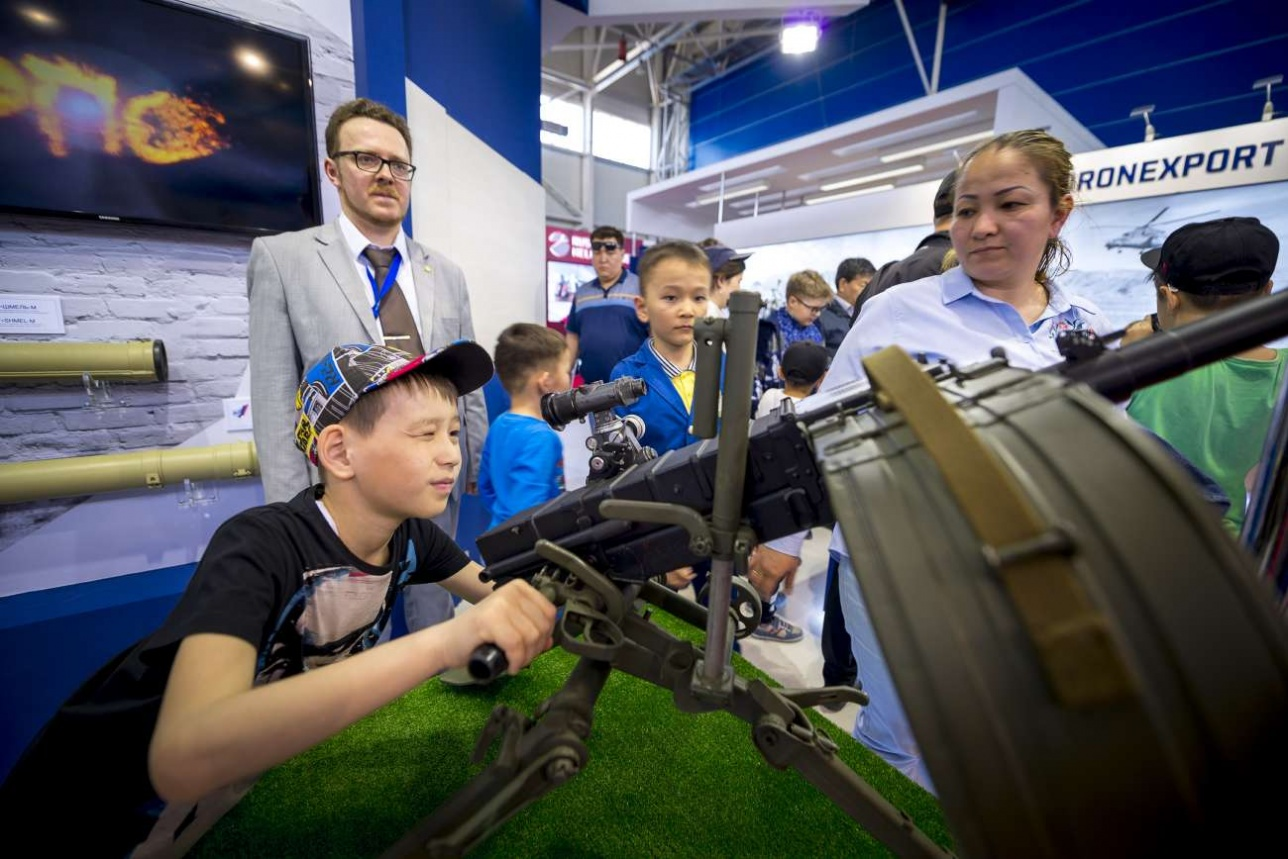Российский павильон вызвал повышенный интерес у посетителей выставки