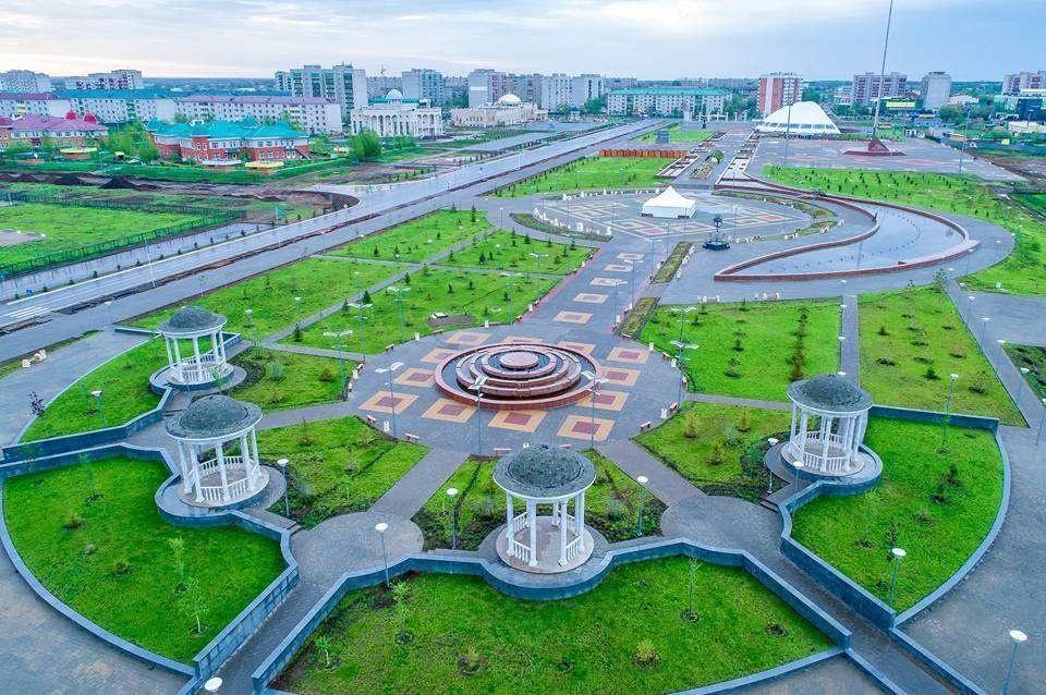 Новая площадь в Уральске