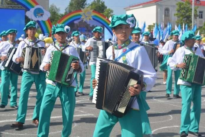 Музыкальный праздник в Таразе