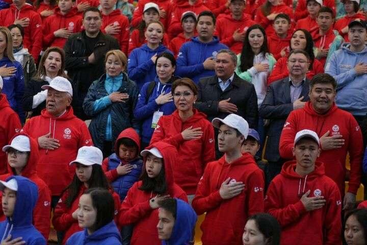 Дарига Назарбаева поздравила финалистов SportFest Kazakhstan