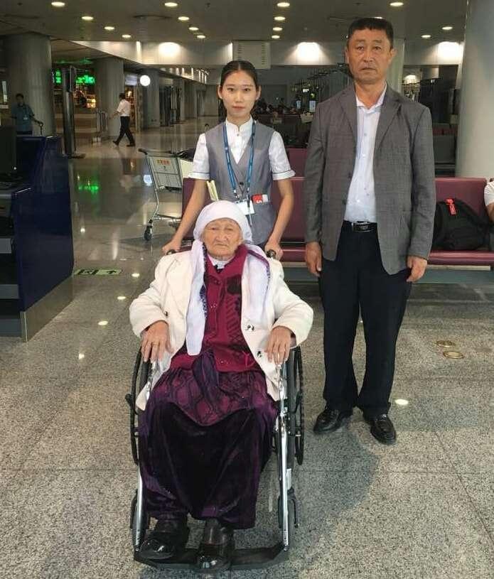 90-летняя Райхан