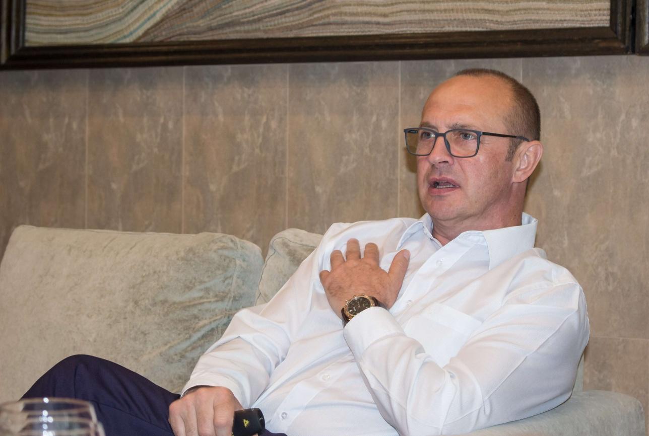 мэр Друскининкай Ричардас Малинаускас