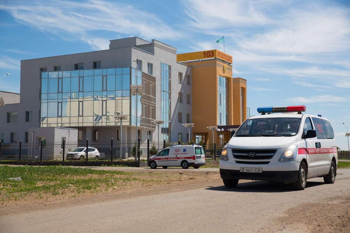 Каждый час со столичной станции скорой помощи выезжают 40-45 машин