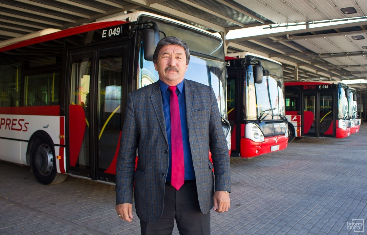"Директор ТОО ""Автобусный парк №3"" Бауыржан Тлеубергенов"