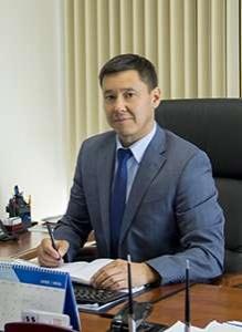 Задержанный Галым Муканов