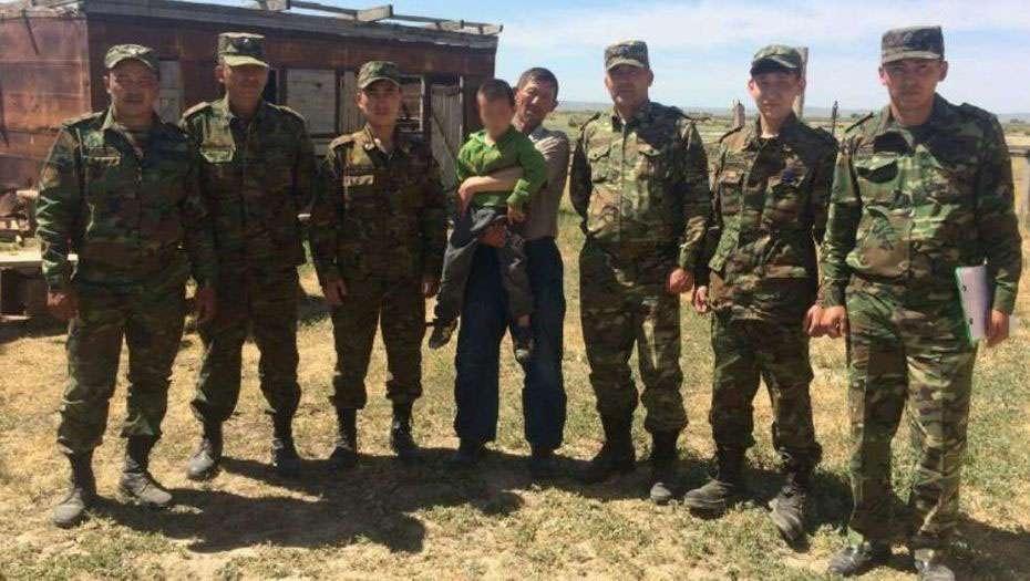 Мальчика спасли в Алматинской области