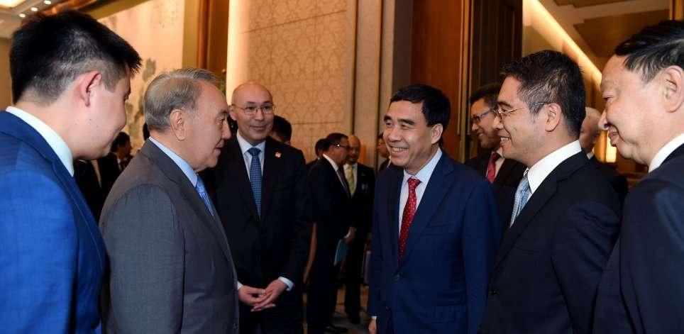 Нурсултан Назарбаев рассказал о предстоящей работе МФЦА