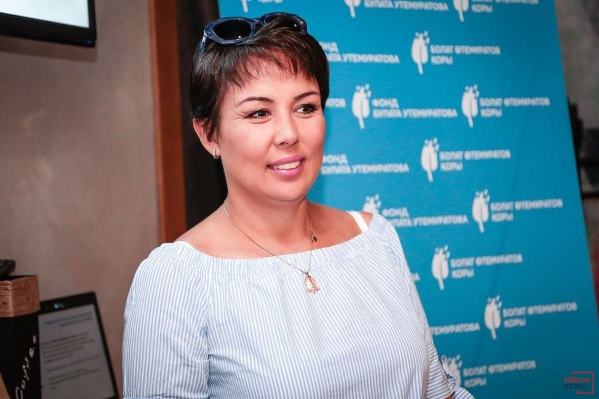 """Глава благотворительного фонда """"ДОМ"""" Аружан Саин"""