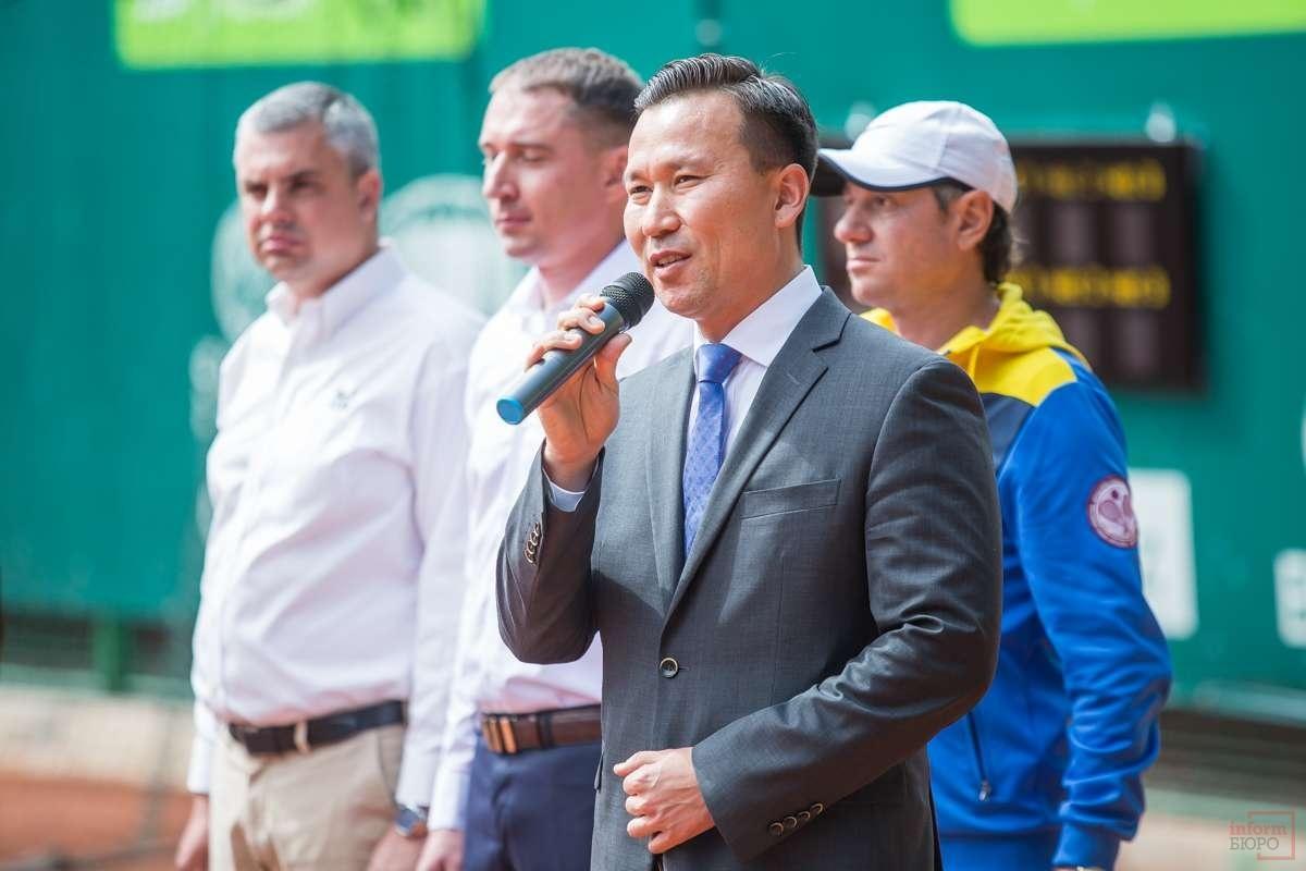 Вице-президент Федерации тенниса Казахстана Диас Доскараев