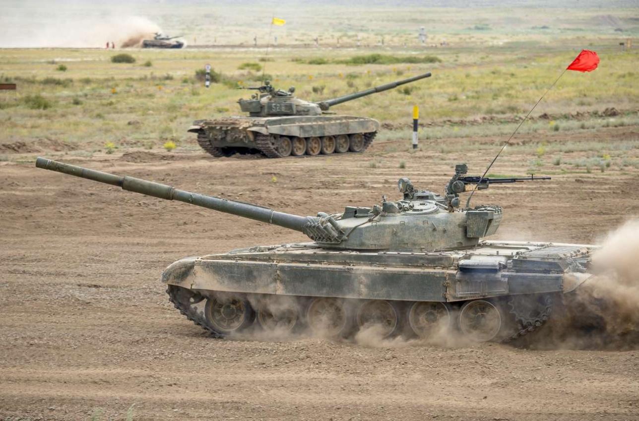 Казахстанские танкисты преодолевают дистанцию за 19 минут