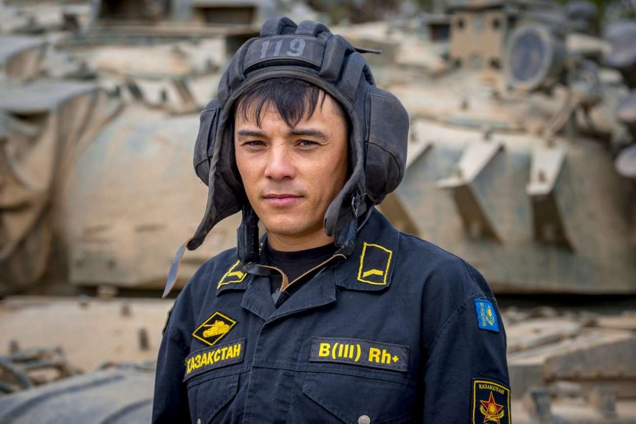 Руслан Молдашев, наводчик-оператор, старший сержант контрактной службы в/ч 10810 (Аягоз)