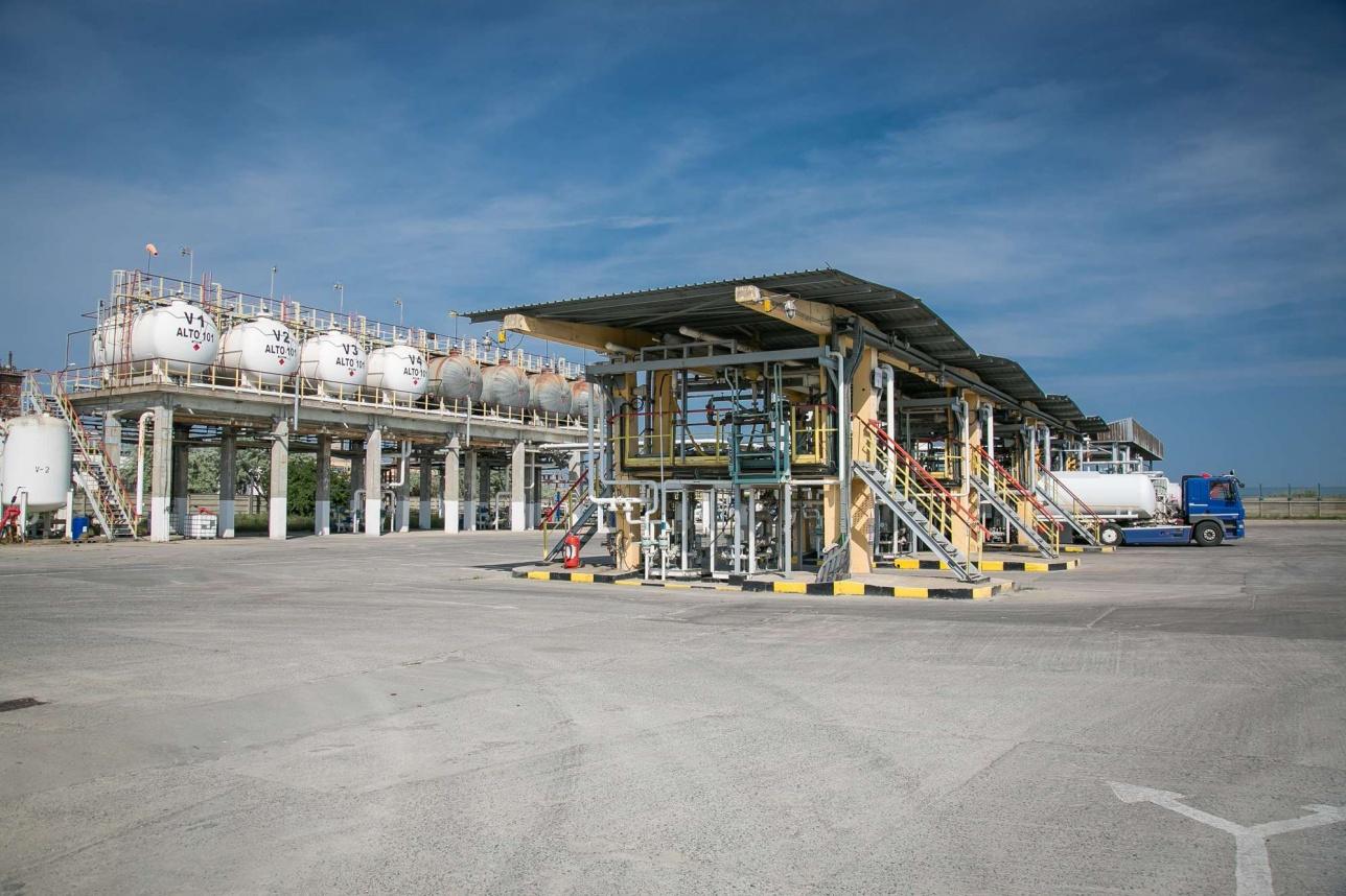 Нефтехранилище Midia Marine Terminal для автоцистерн