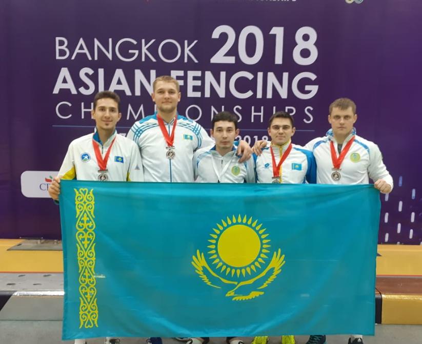 Мужская сборная Казахстана по фехтованию