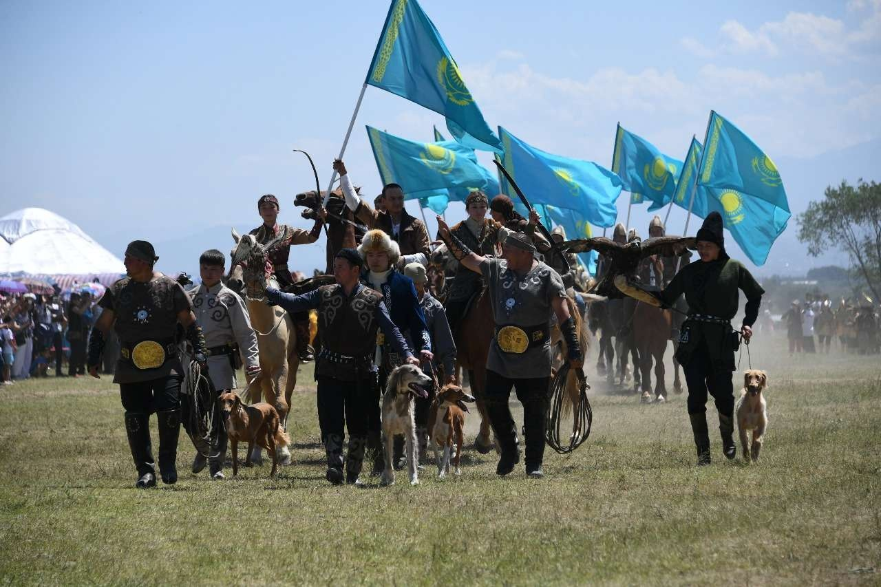 Представители Казахстана на фестивале