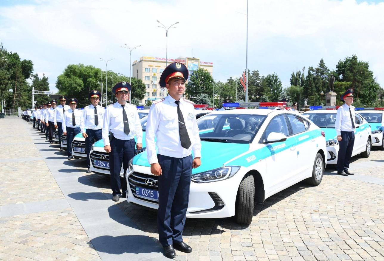 Новые полицейские авто