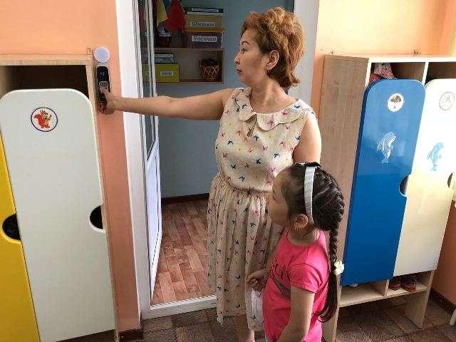 Новая пропускная система в детском саду