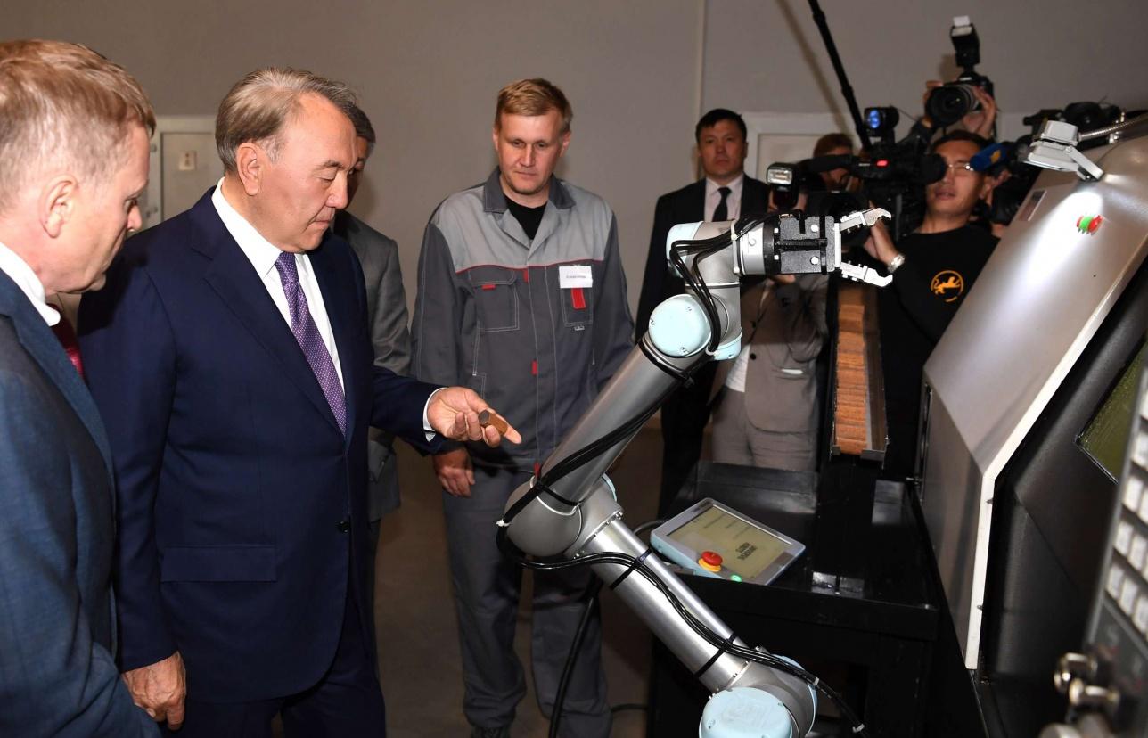 Президент на предприятии в Усть-Каменогорске