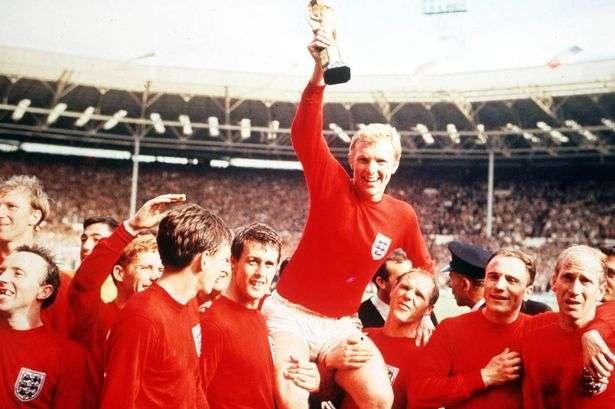Англия 1966 жылы футболдан әлем чемпионы атанған кездегі сәттен