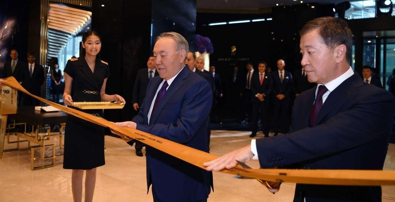 Открытие The Ritz-Carlton, Astana