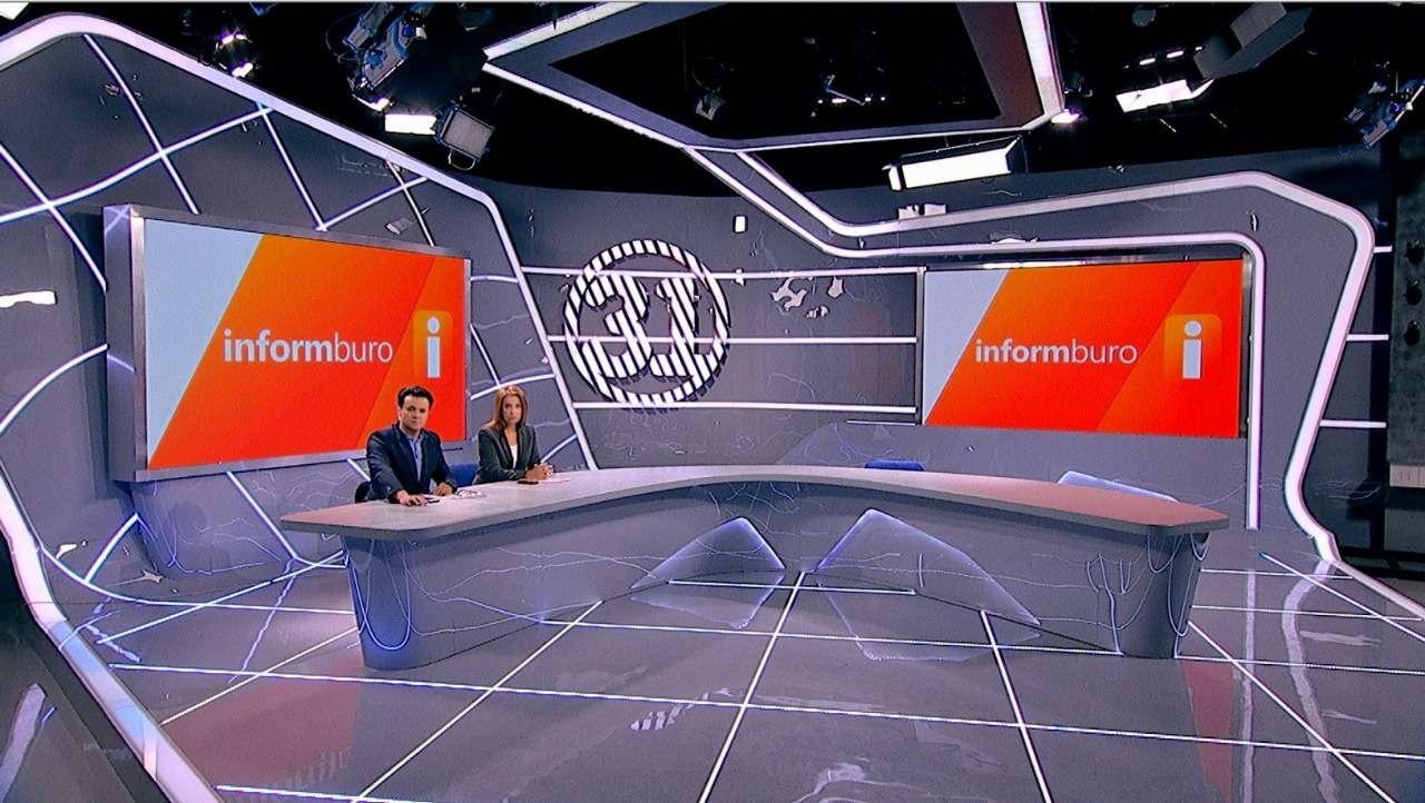 """Новая студия """"Информбюро"""" на 31 канале"""