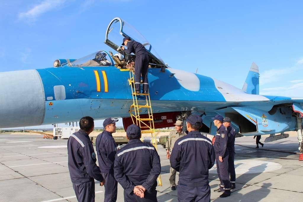 СУ-27 совершил аварийную посадку в 2016 году
