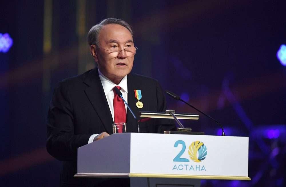 Выступление главы государства на торжественном приёме в честь 20-летия Астаны