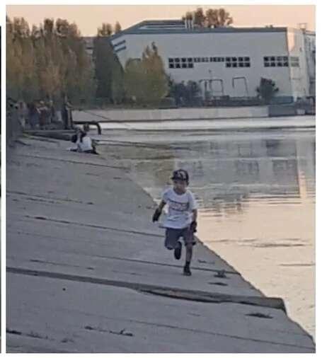 Фото ребёнка с записи камер видеонаблюдения