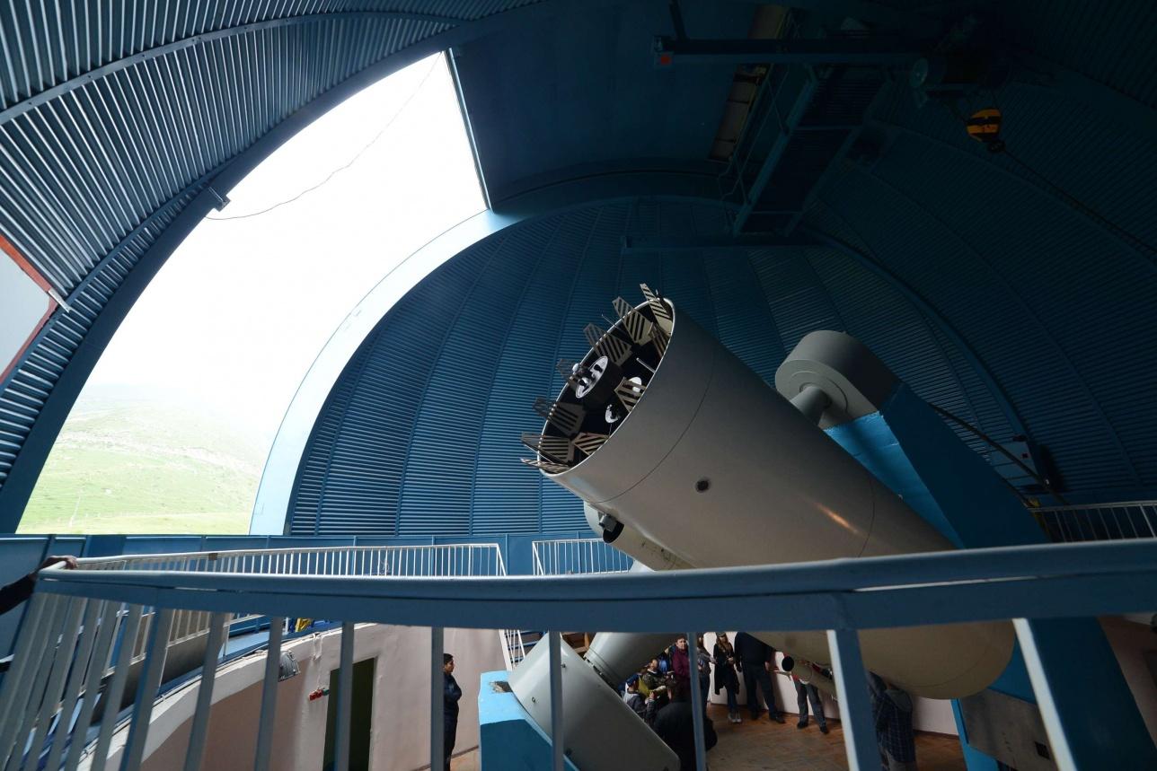 Cтарый телескоп, который лежал на складе 25 лет