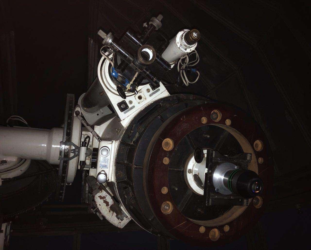 Так выглядит телескоп в Тянь-Шаньской астрономической обсерватории