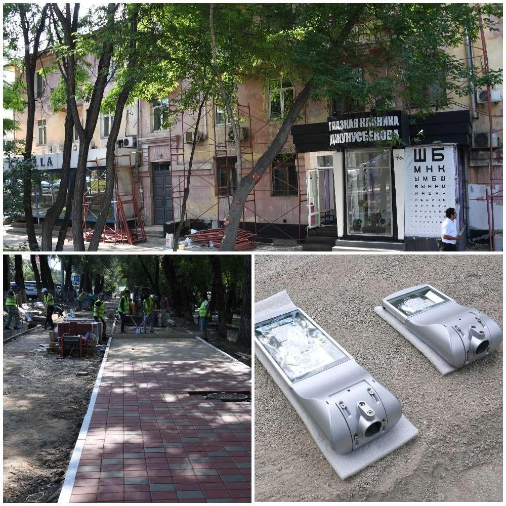 Продолжается работа по благоустройству улиц города