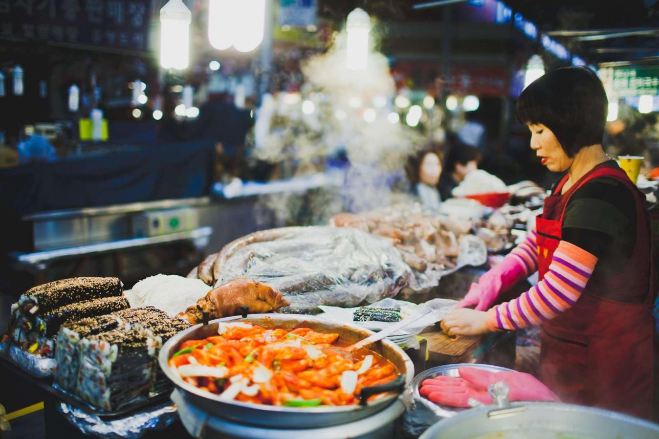 Стрит-фуд в Сеуле