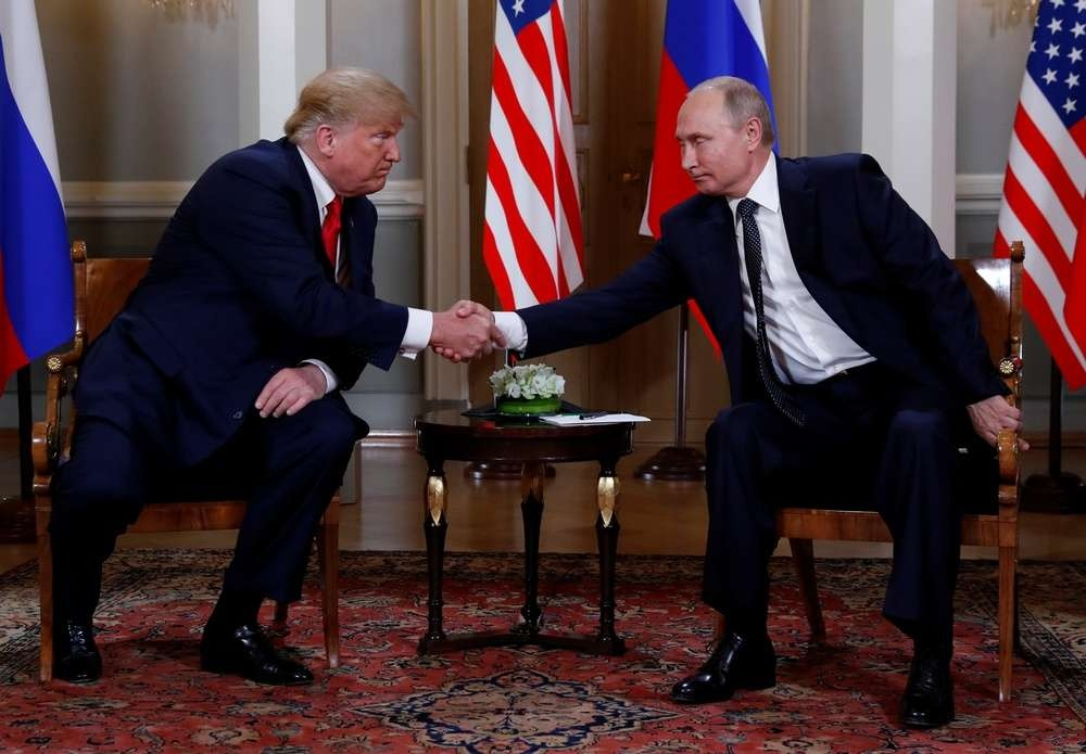 Переговоры Путина и Трампа в Хельсинки 16 июля