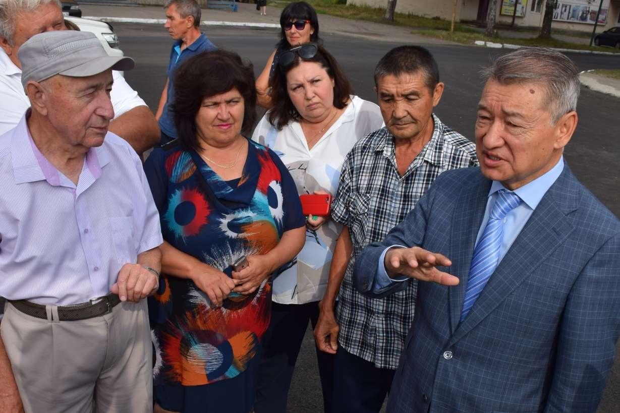 Даниал Ахметов проинспектировал ремонт дорог в Зыряновске