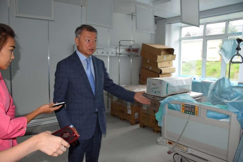 Инсультный центр в Зыряновске