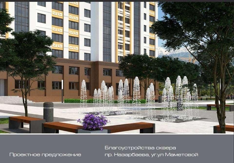 На Назарбаева восстановят неработающие фонтаны
