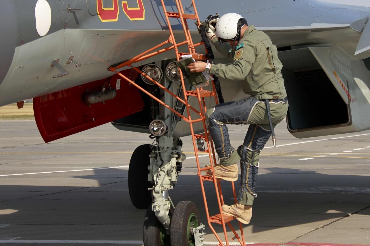 Лётный состав примет участие в Международных армейских играх