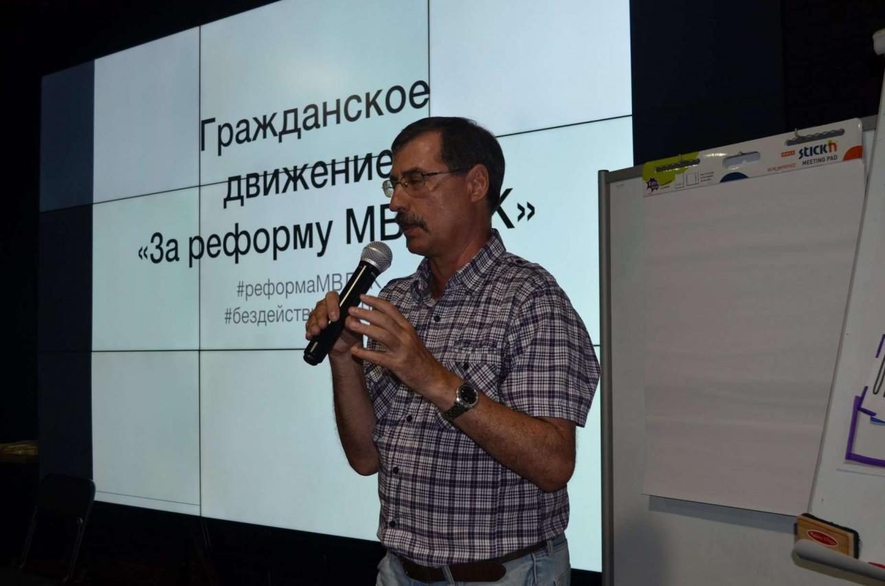 Правозащитник Евгений Жовтис