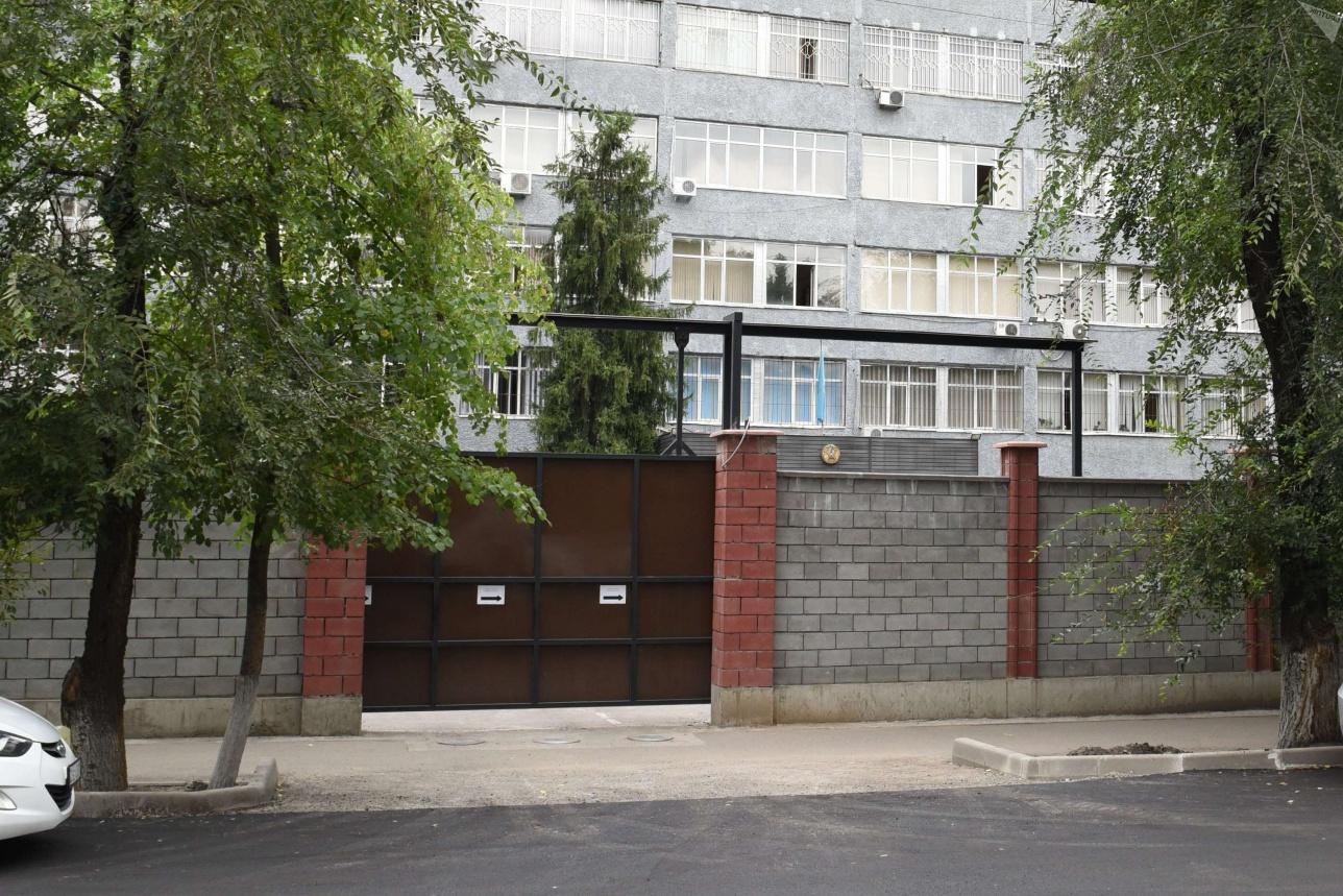 Здание Алмалинского РУВД