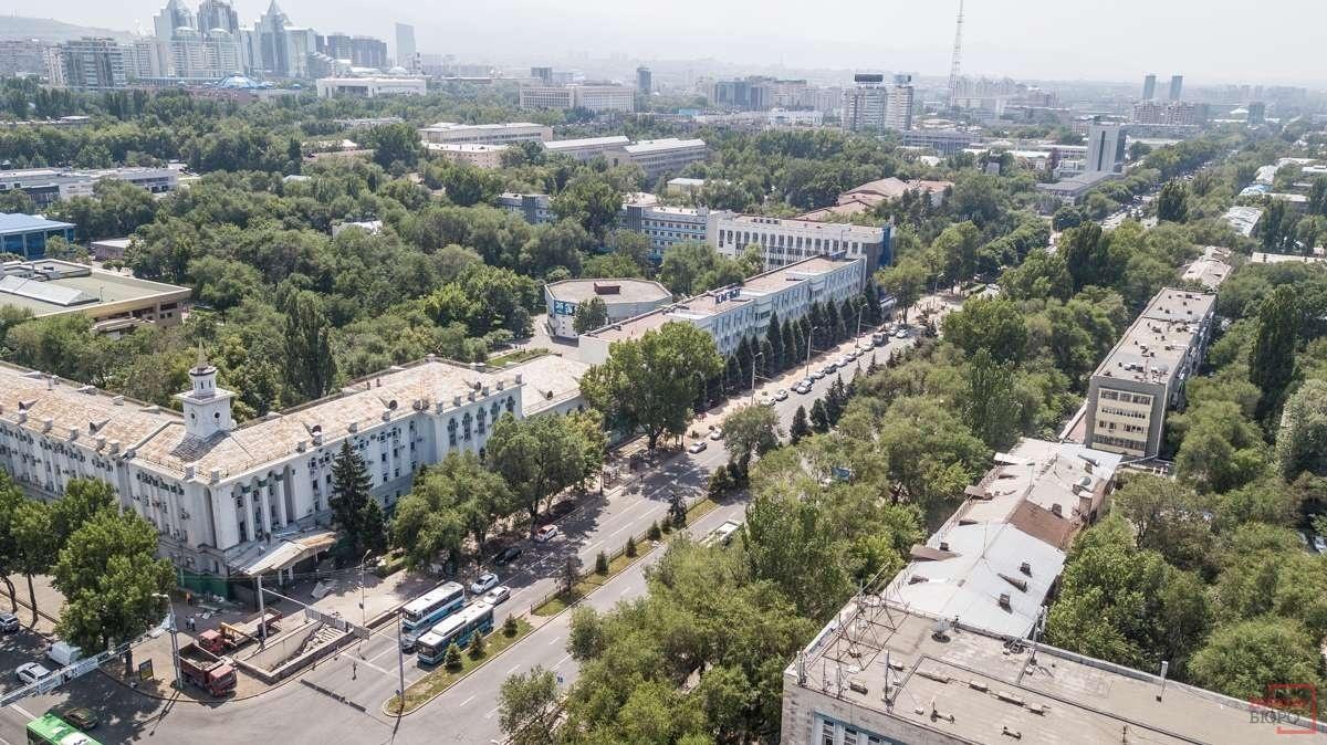 Проспект Абая в Алматы