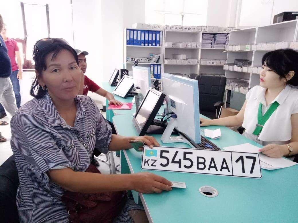 Одна из первых обладательниц номеров с регионом №17