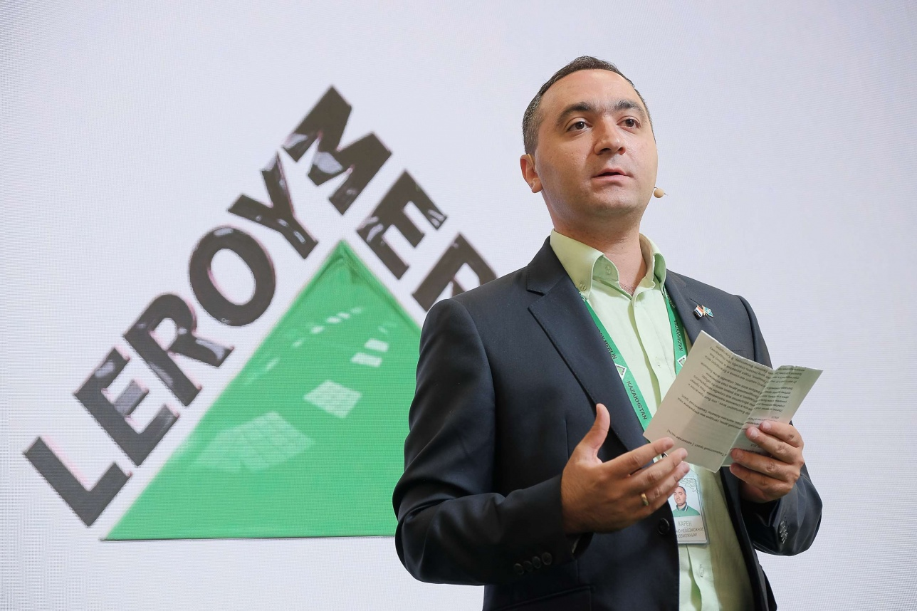 "Директор алматинского магазина ""Леруа Мерлен"" Карен Нерсесян"
