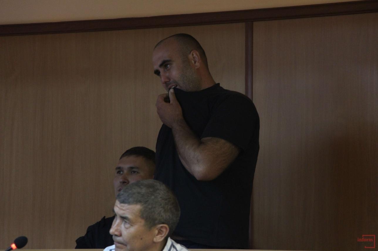 подозреваемый заплакал на суде