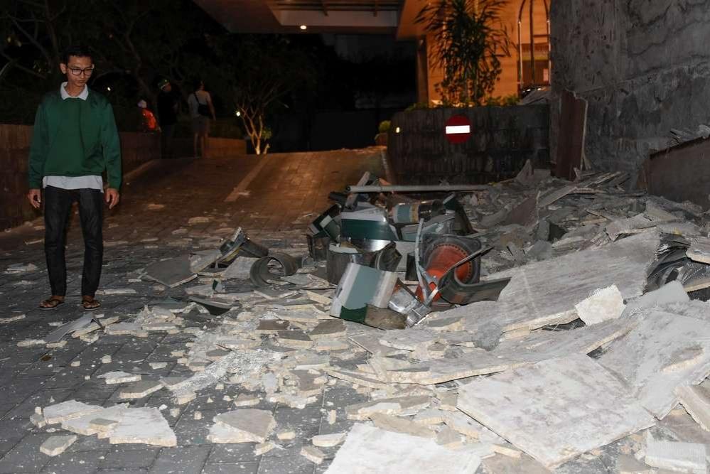 Землетрясение на острове Ломбок