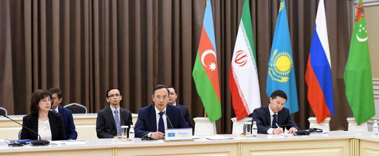 Главы МИД прикаспийских государств обсудили подготовку к саммиту