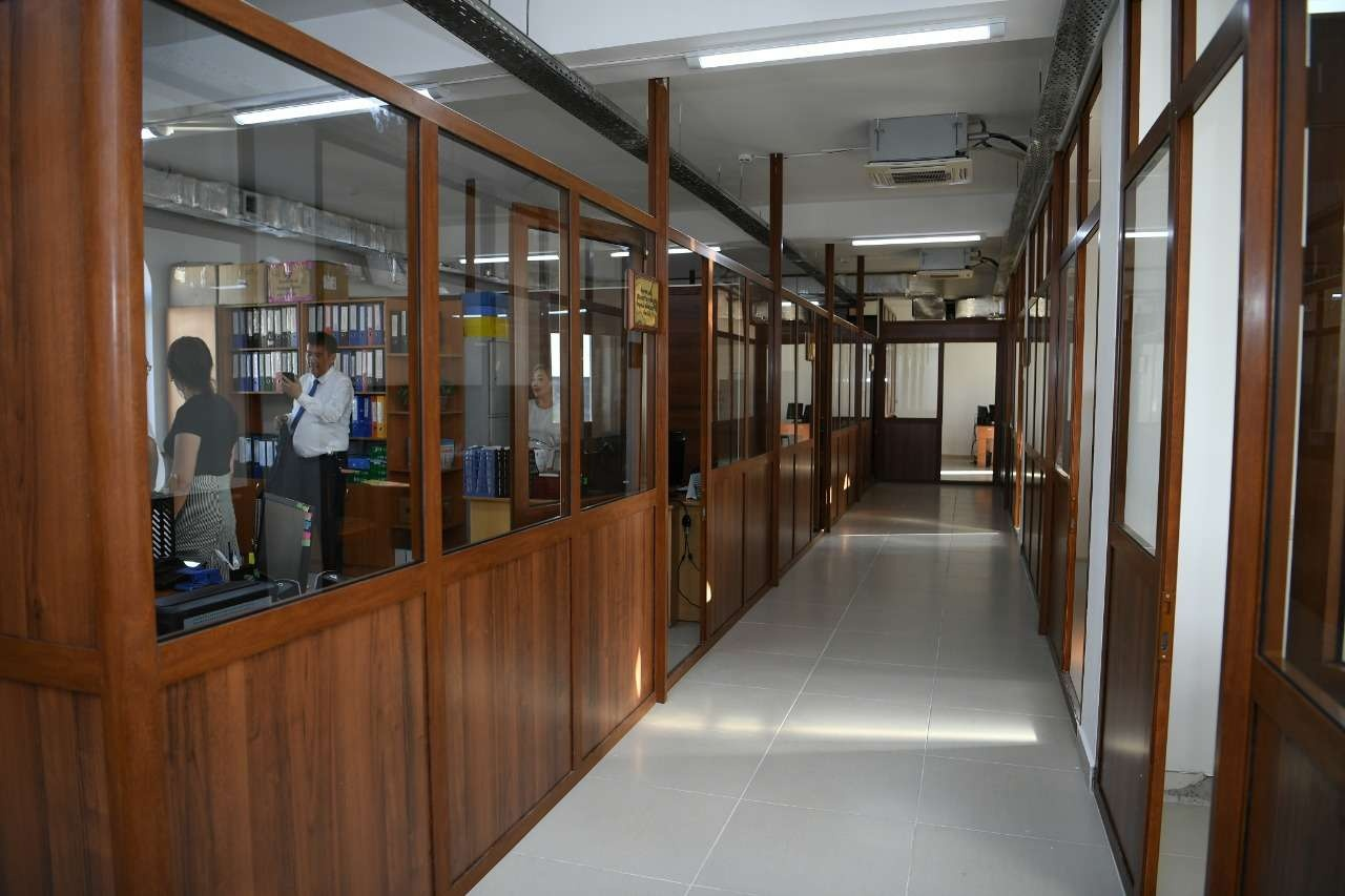 Новые помещения оборудуют всем необходимым для удобства посетителей