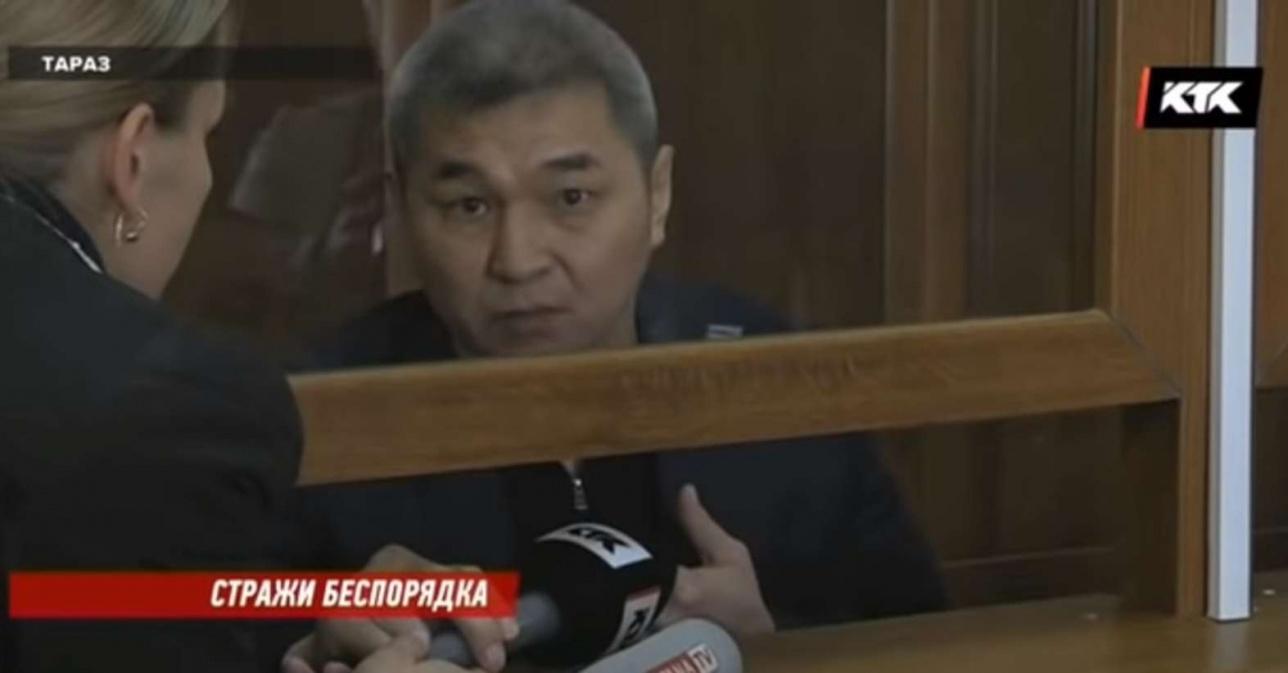 Мурат Умбеталиев в суде