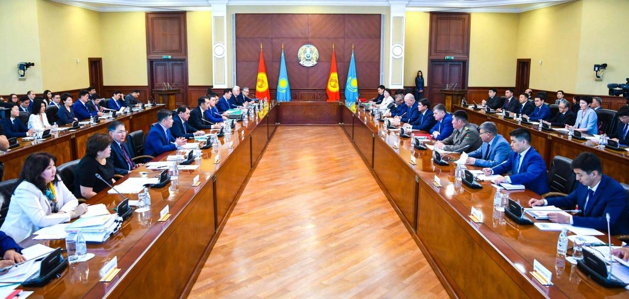 VII заседание казахстанско-кыргызского межправительственного совета